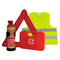 Fire extinguishing set